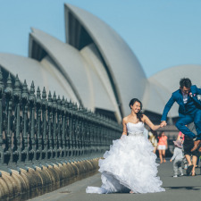 professional pre-wedding photography at Sydney 澳洲悉尼婚礼跟拍