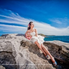 Sydney pre-wedding beach
