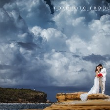 professional pre-wedding photography at Sydney悉尼婚纱照海滩