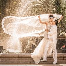 Sydney pre wedding hyde park