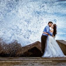Sydney pre wedding beach