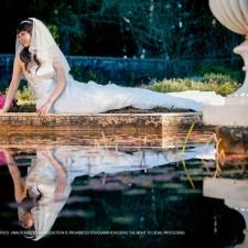 Sydney pre wedding garden