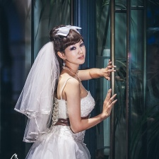 professional pre-wedding photography at Sydney澳洲悉尼婚纱照QVB