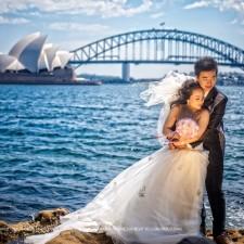 Sydney pre-wedding blue mountains